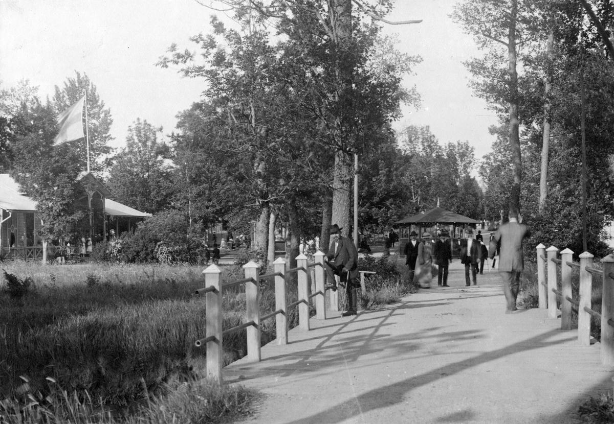 Johannisdal. Bron över Kölstaån. Omkr. 1900.