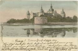Kalmar Slott 1901.   Hjärtligt tack för både brefvet och