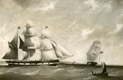 Bark 'Bellona' (b. 1848, Uddevalla, Sverige).