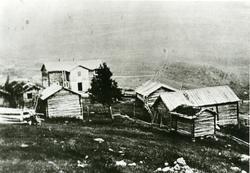 Garden Skaret i Stavedalen, Sør-Aurdal. Tatt i 1890-åra.