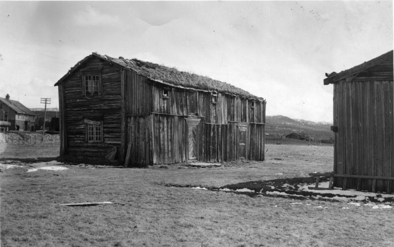 Eggagården på sin opprinnelige plassering