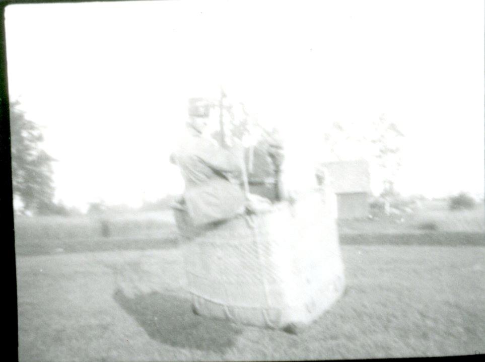 Ballongen landar vid Tubbarp.