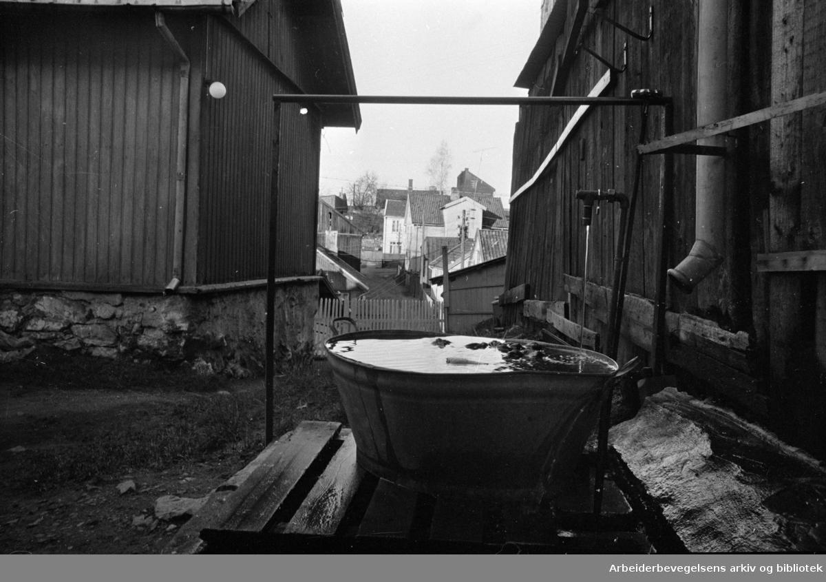 Rodeløkka: Tromsøgata 14. November1967