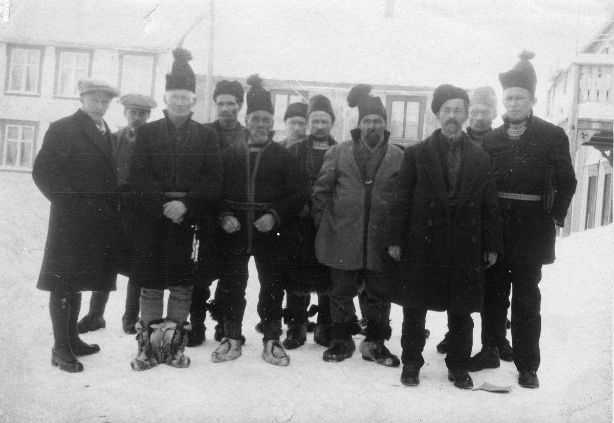 Møtedeltakere ant. 1922