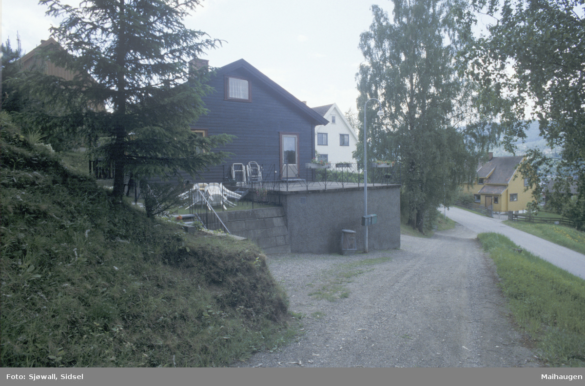 Lillehammer, Sorgendal, bolighus, bebyggelse i Morterudvegen