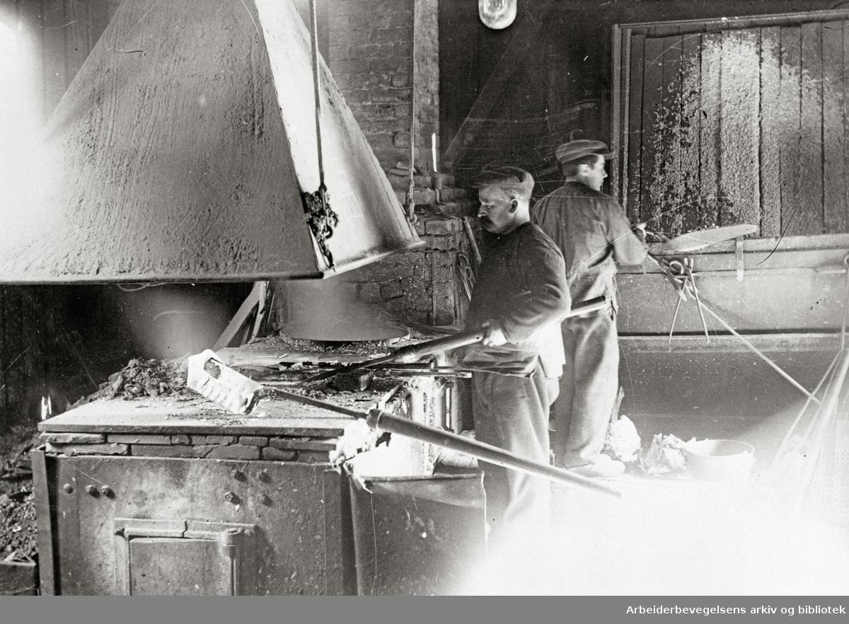Christiania Spigerverk i Nydalen, 1920-30.