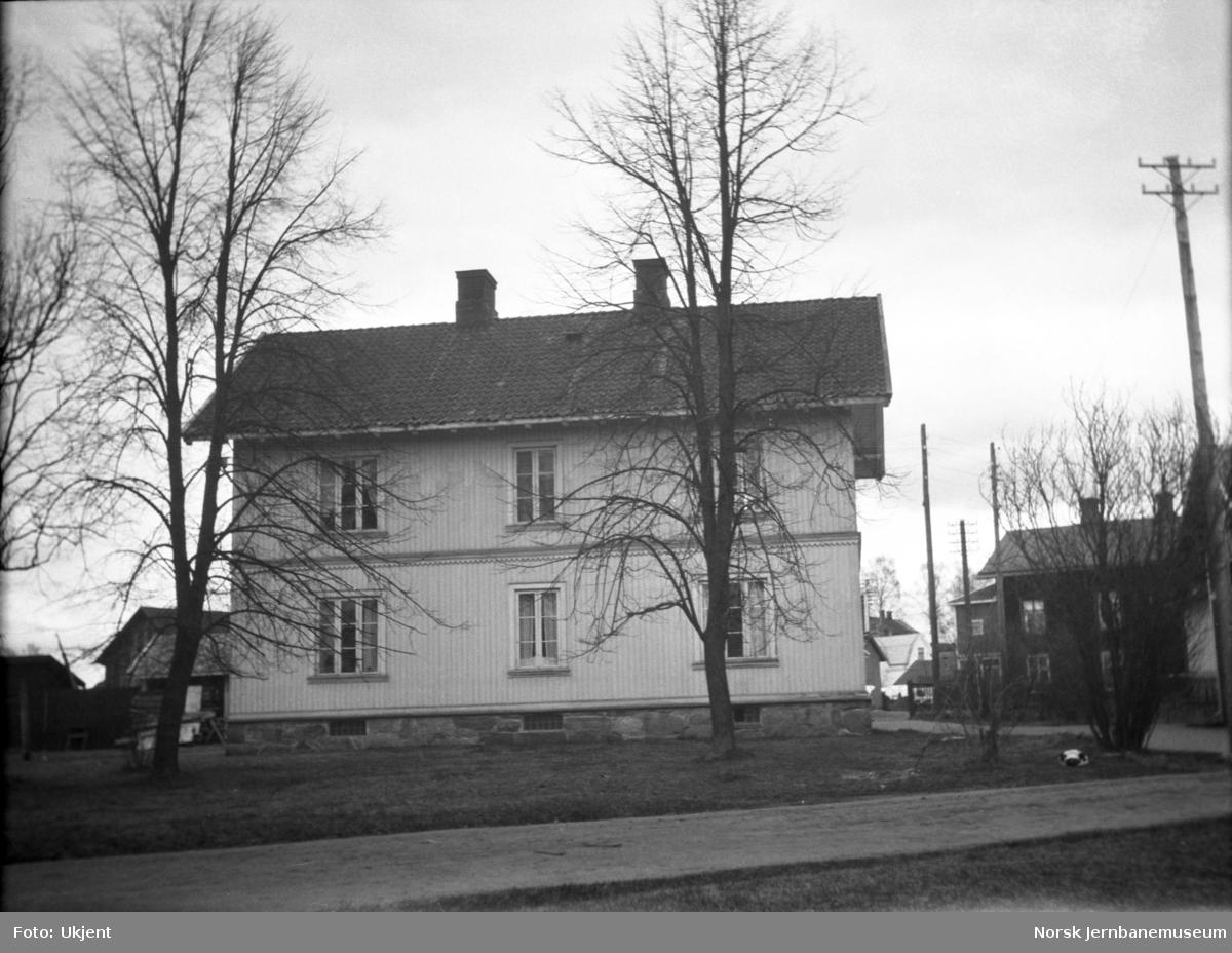 NSBs overnattingshus på Charlottenberg stasjon