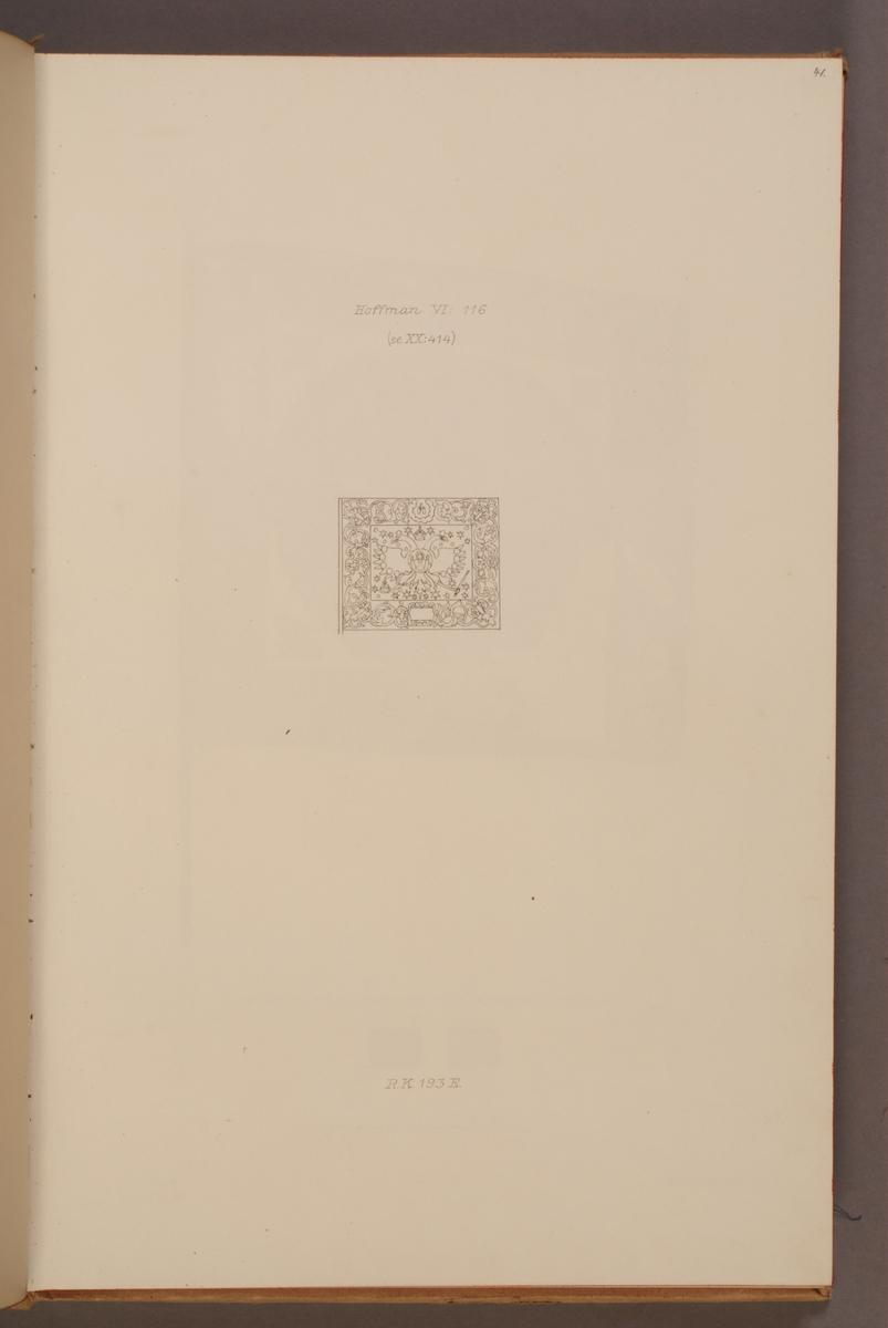 Avbildning i föreställande fälttecken taget som trofé av svenska armén. Den avbildade fanan finns bevarad i Armémuseums samling, för mer information, se relaterade objekt.