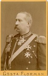 Porträtt av okänd officer vid Skånska dragonregementet K 6.