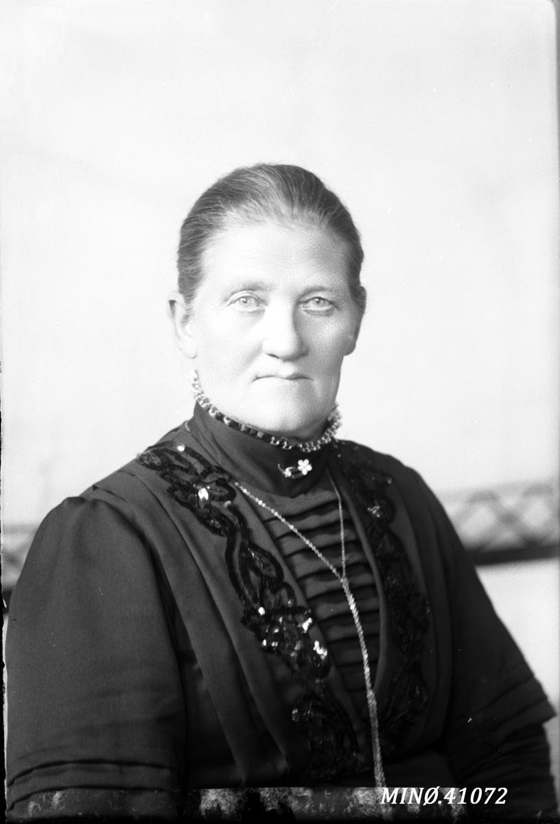 Portrett av kvinne - fru Elvesæter