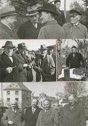 Bildeserie fra åpninga av Vegsundbrua 1938.