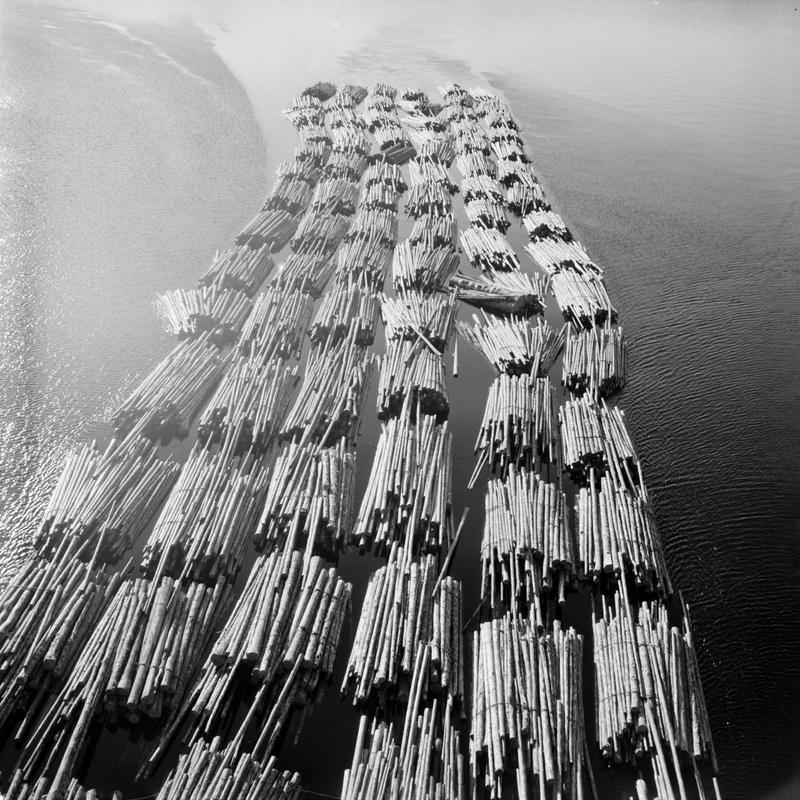 Tømmerfløting 1958-59