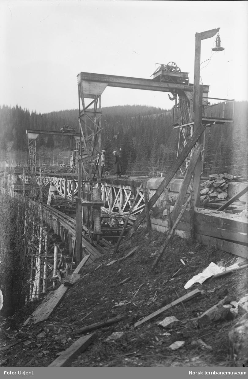Funna viadukt : utskifting av spenn