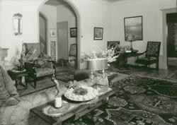 Villa Talludden. Nedre Hallen. Foto 1939-08-21