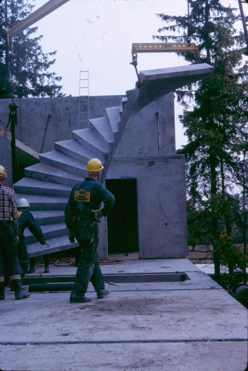 Bilder från arbetsplatsen, hus 2.