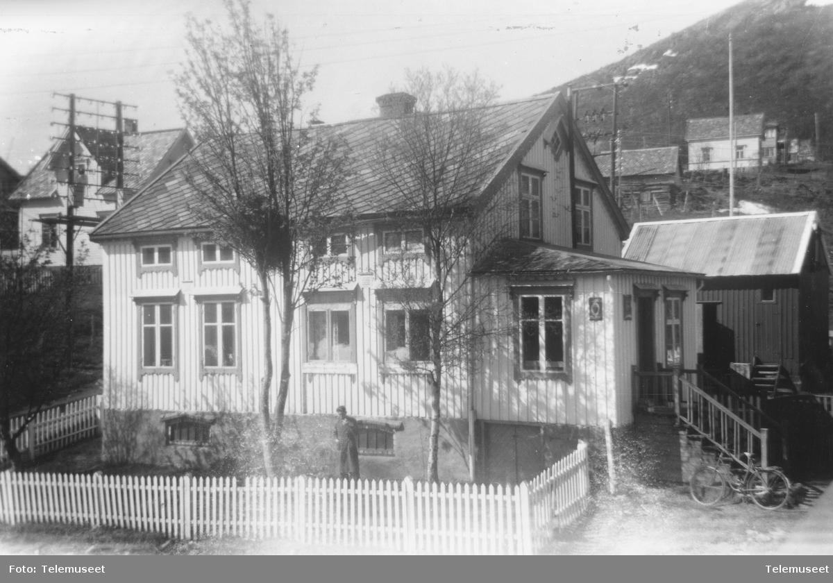 Skjervøy telegrafstasjon 1954