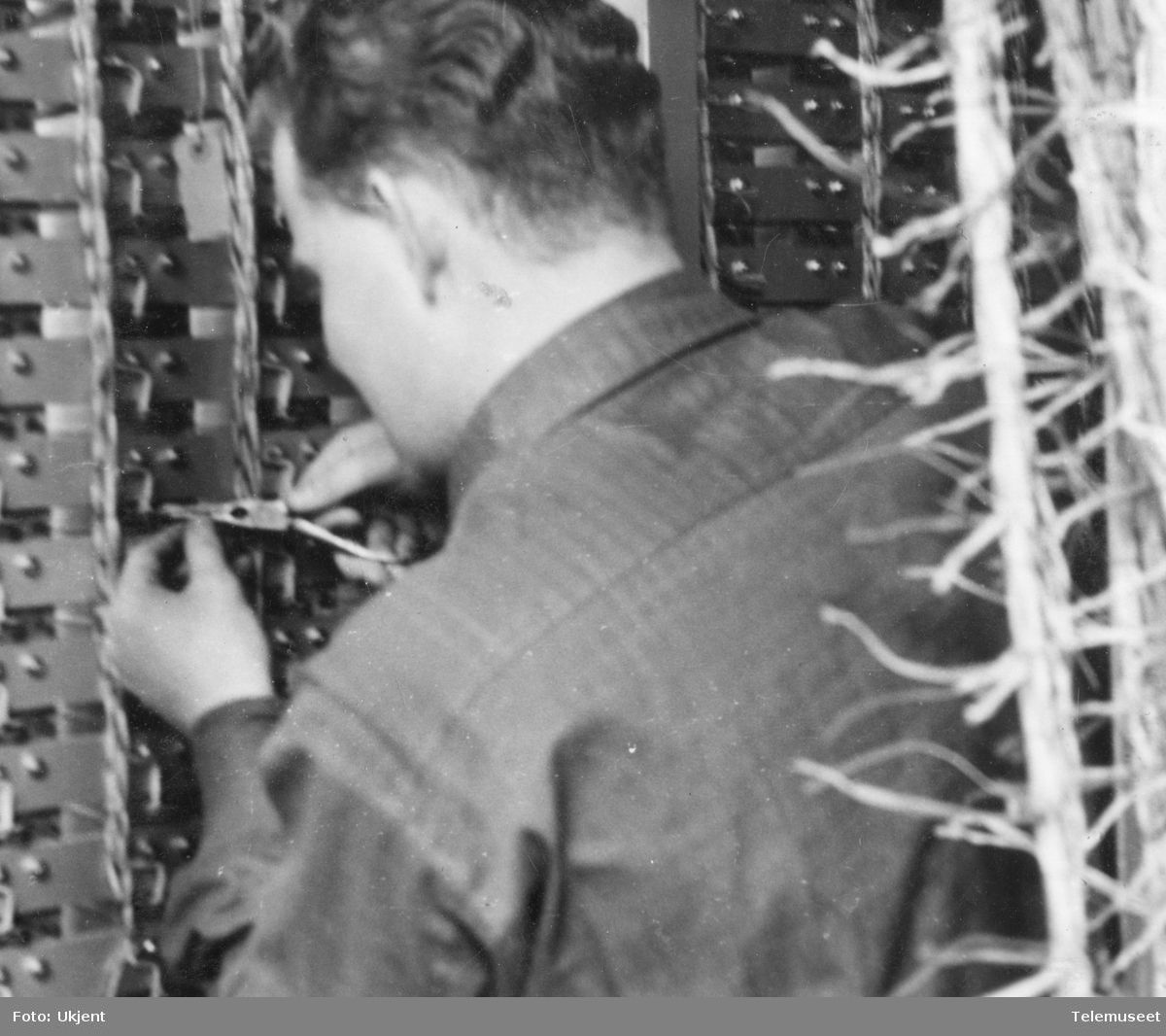 Automatsentral montering