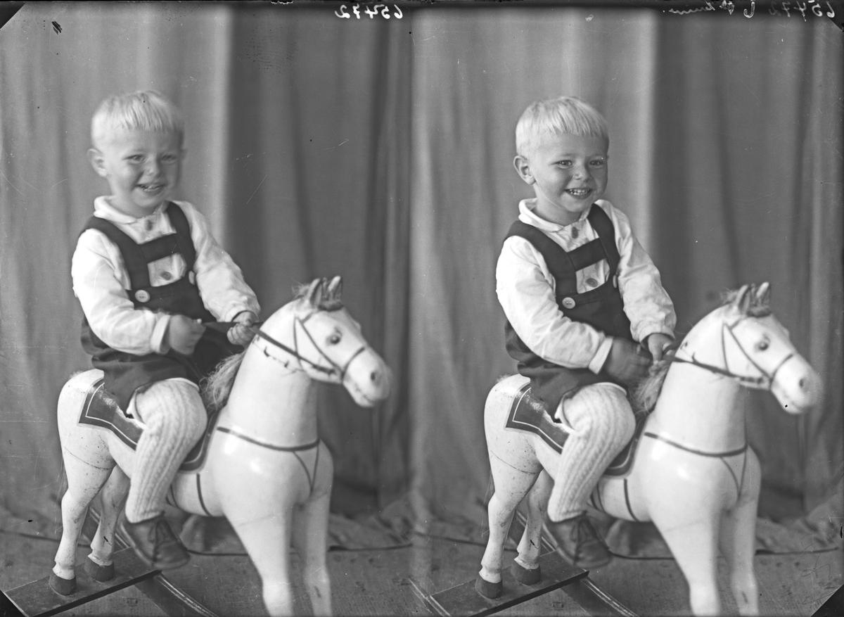 Portrett. Ung gutt. Bestillt av Johan Hesthammer. Kårstø.