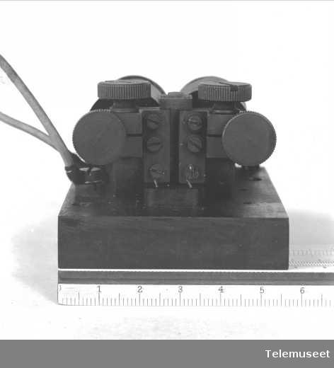 Telefonutstyr, D mrk III surrer, sept. 1914. Elektrisk Bureau.