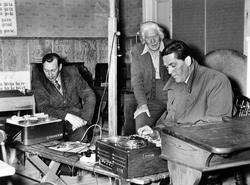 Från vänster: Karl antonsson, Josef Högstedt och Samuel Fast