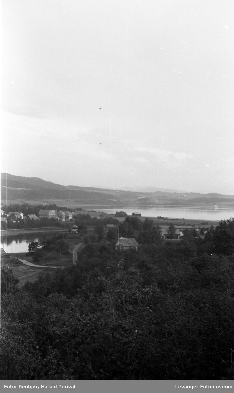Utsikt mot Moan og Nesset.