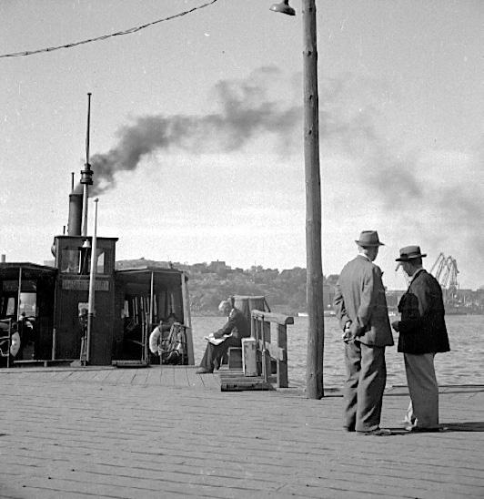 Göteborgs hamn. (1949?)