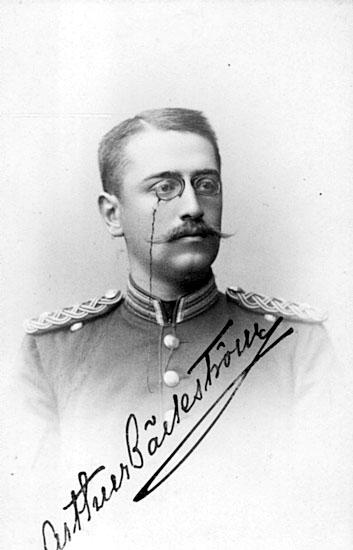 Johan Arthur Bäckström.