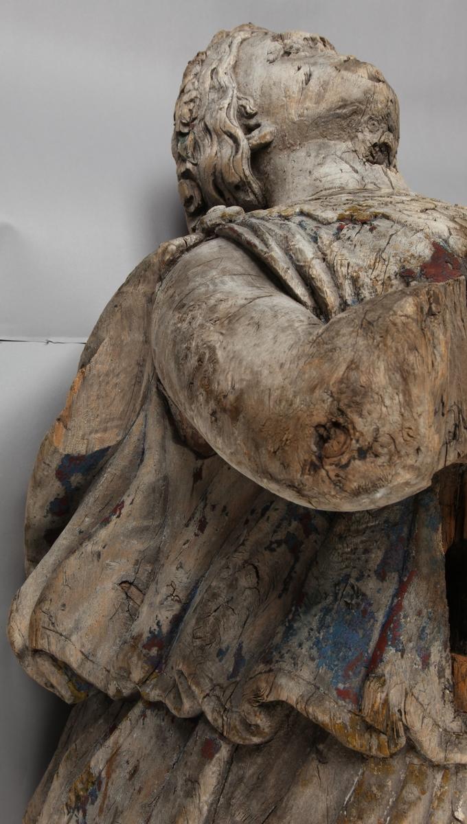 Gallionsfigur av kvinne funnet utenfor kysten av Mandal fra ukjent skip.