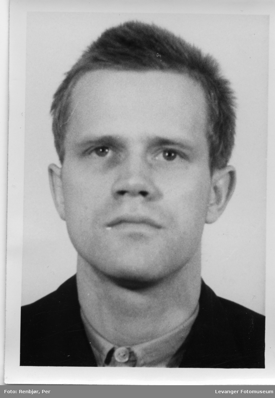 Sigmund Riverud,  medlem av Rinnanbanden, fotografi tatt i forbindelse med rettsaken.
