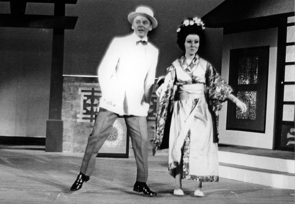 Japan, underhållning. Lars sigvard och Rosita Landberg, Gefle Lyriska Teater