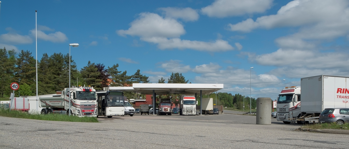 Bensinstasjon Dronningveien Hølen Vestby