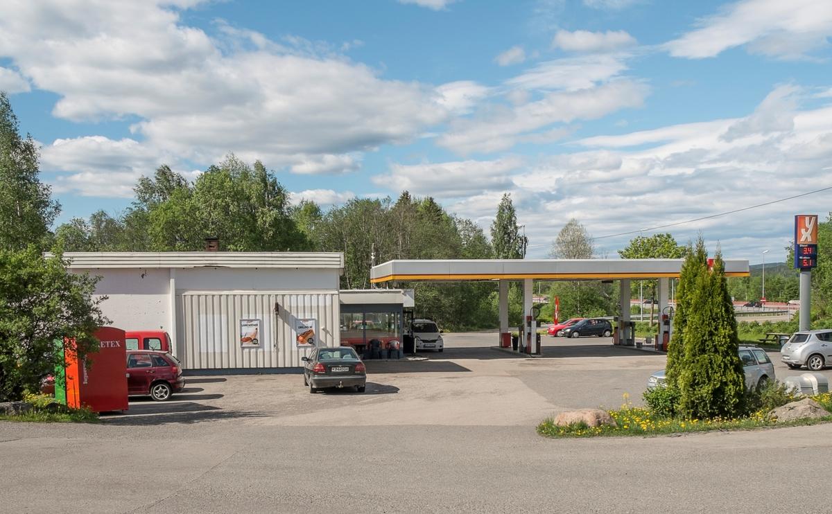 YX bensinstasjon Solbakken Slattum Nittedal
