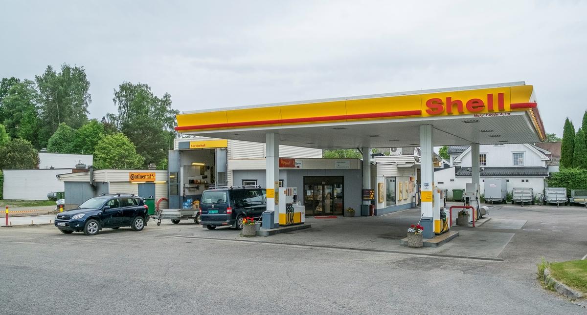 Shell bensinstasjon Sundgata Eidsvoll