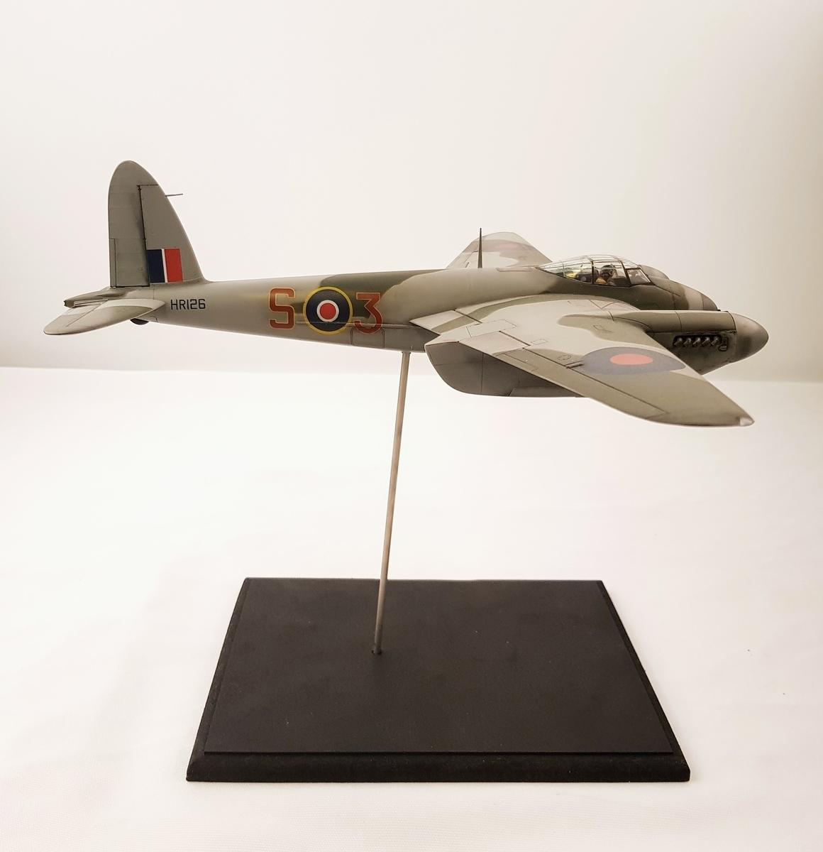 Modell av Mosquito HRI126.