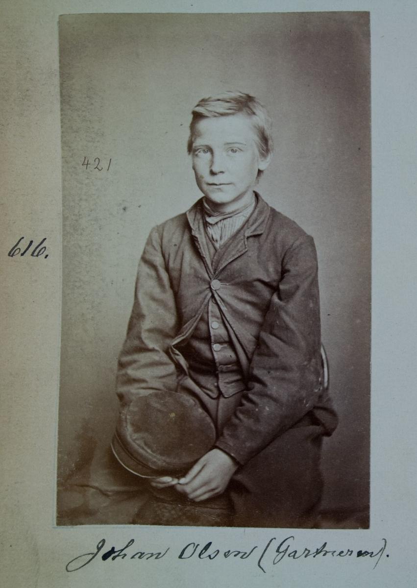 Fangeportrett, Johan Olsen