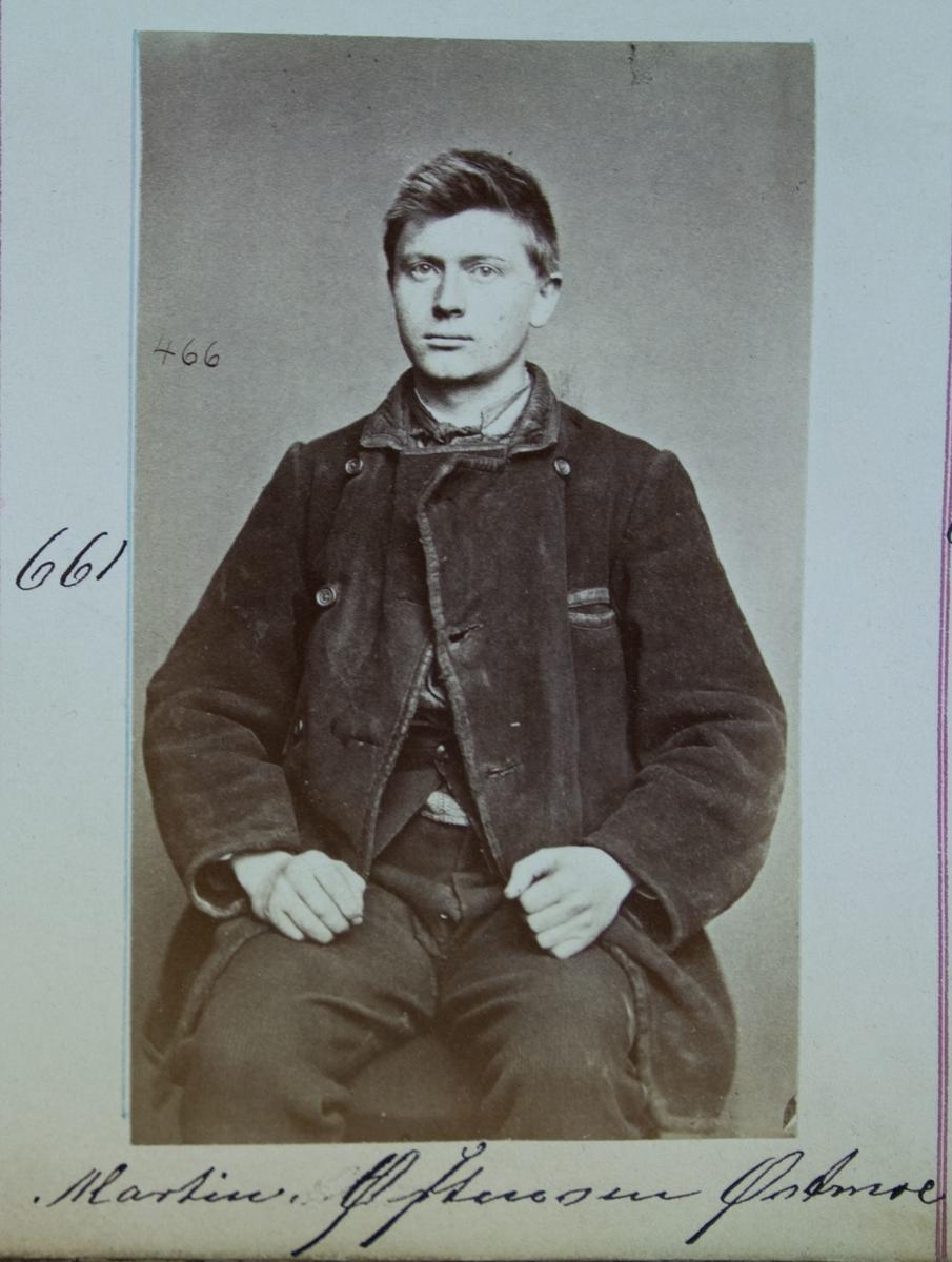 Fangeportrett, Martin Østensen Østmoe