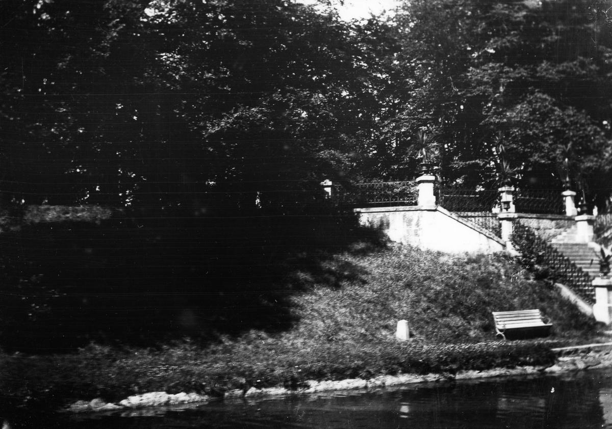 Baltzar von Platens grav. Foto 1923.