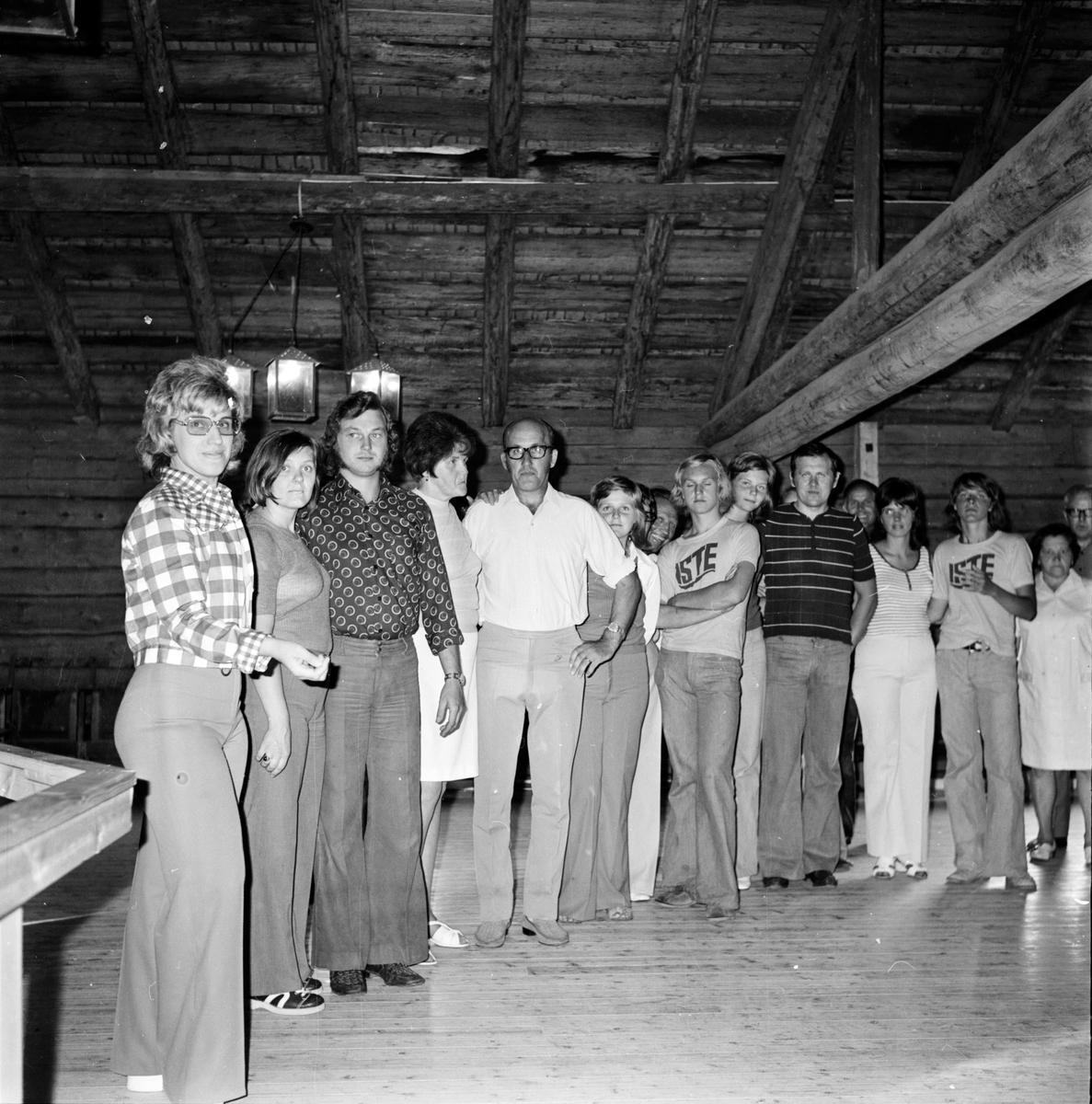 Arbrå, Danskurs på Fornhemslogen, Juli 1973