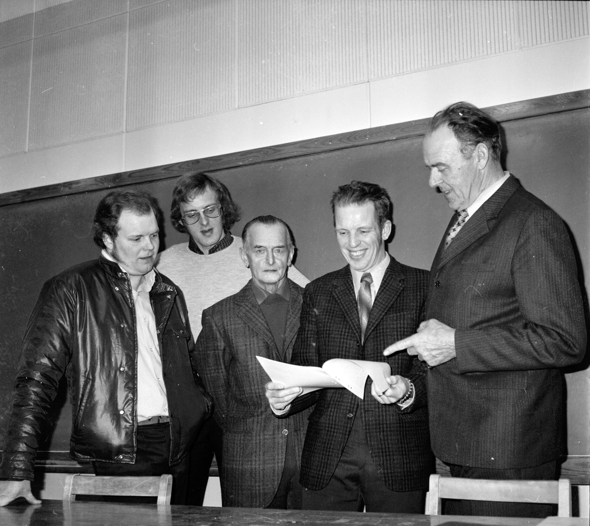 Nytorp, Svinintressenter, Bl.a. Gunnar Larsson, Mars 1973
