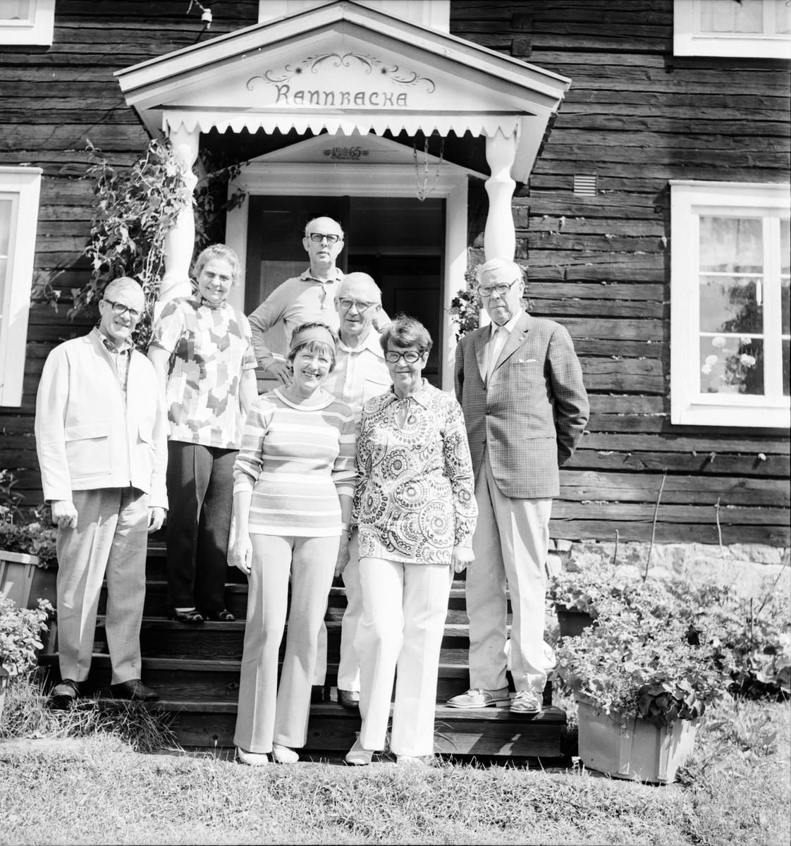 Dalsjön, Dalsjökväll med Röhstö, Invigning av Gammelgården, Juli 1973