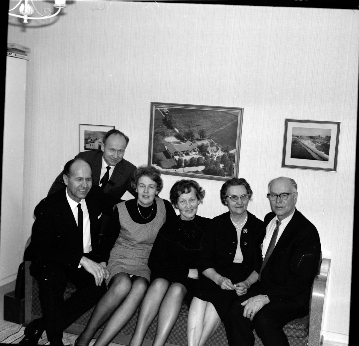 Arbrå, Hos Olle Bodell, Sven Bodell,Ivar Peterson, April 1969