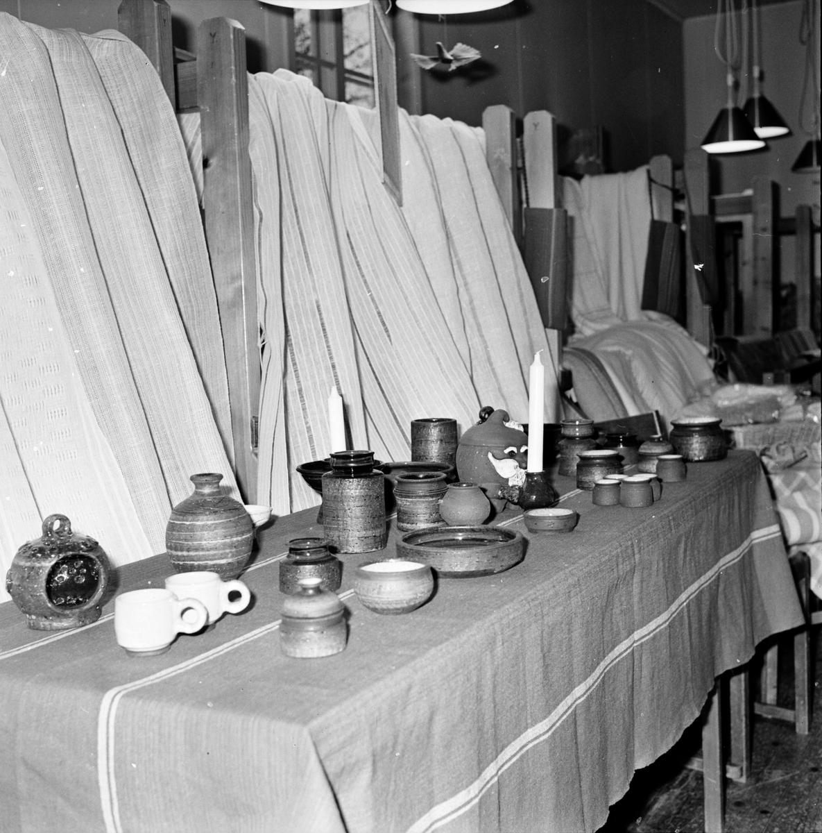 Vallsta, Hemslöjdsutställning, December 1971