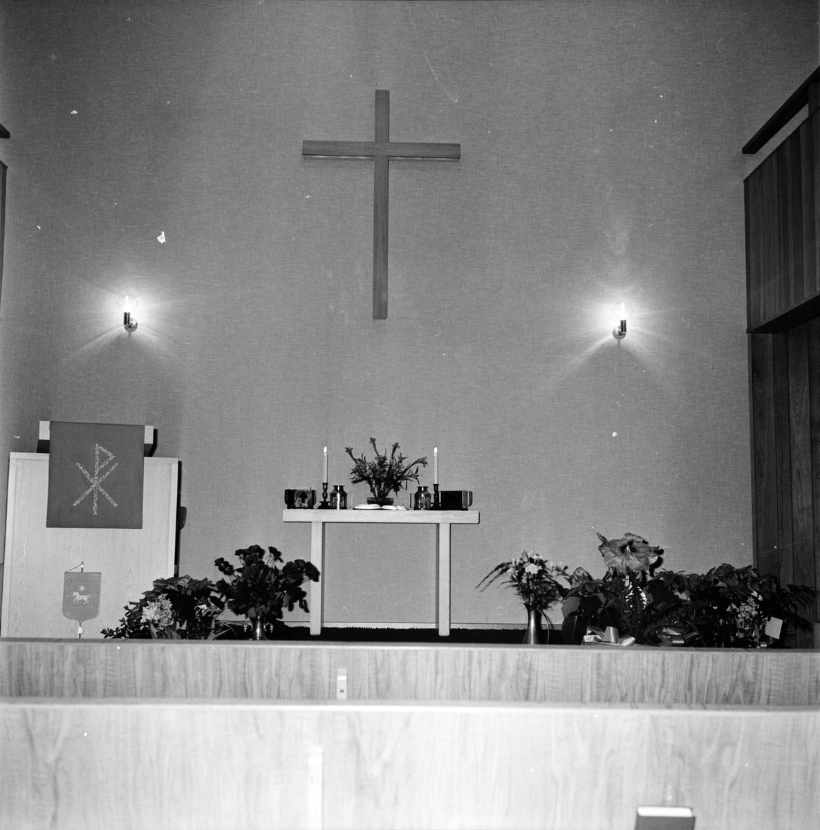 Arbrå, Baptistkyrkan, Invigning, December 1971