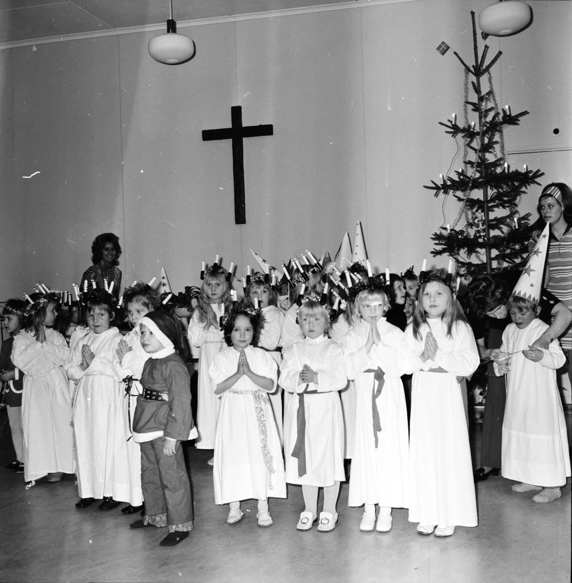 Arbrå, Barntimme, Julfest, December 1971