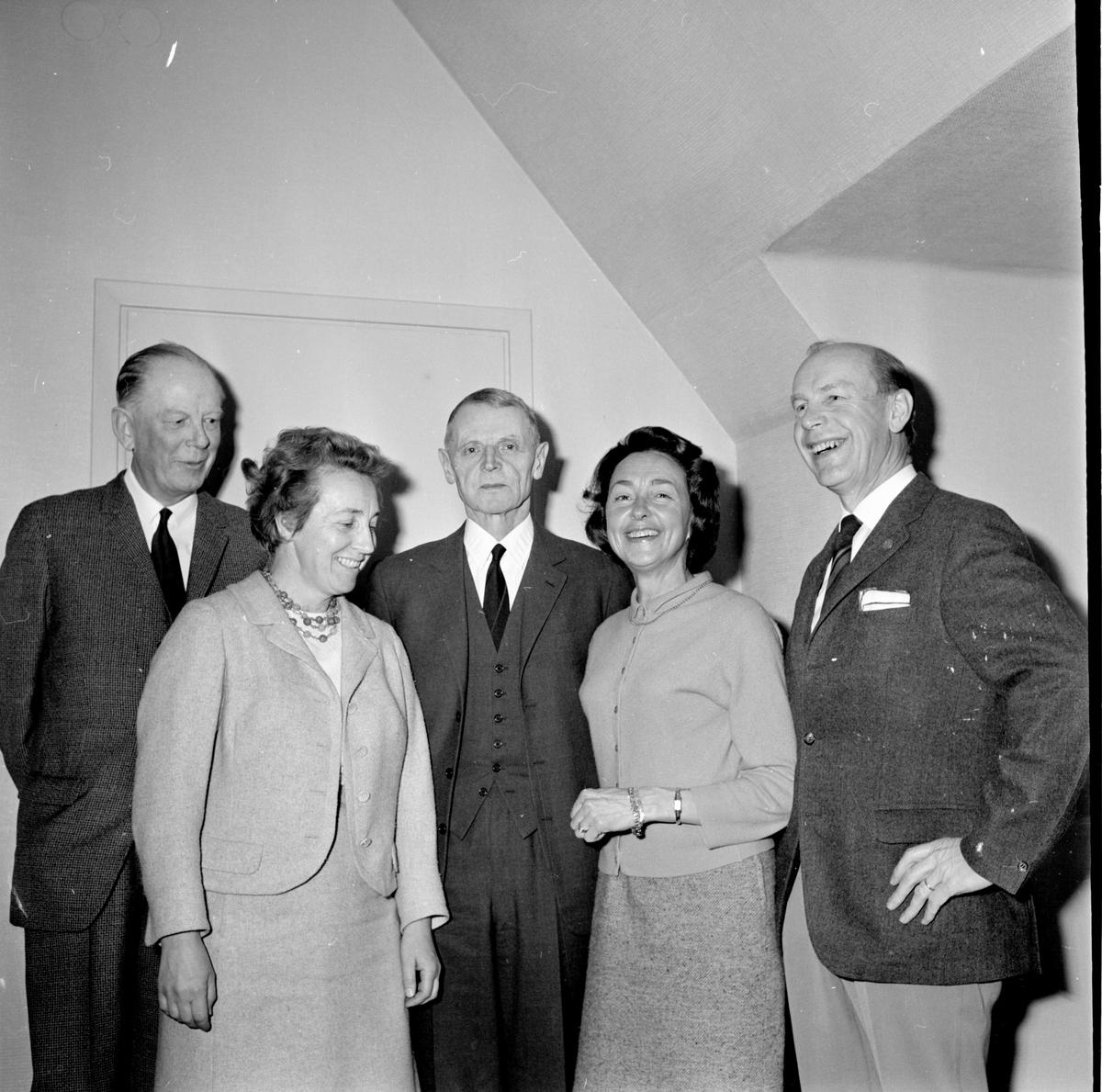 Tandläkarmöte i Bollnäs, Prof. Jens Waerhang, Oslo, 4 Aug 1967
