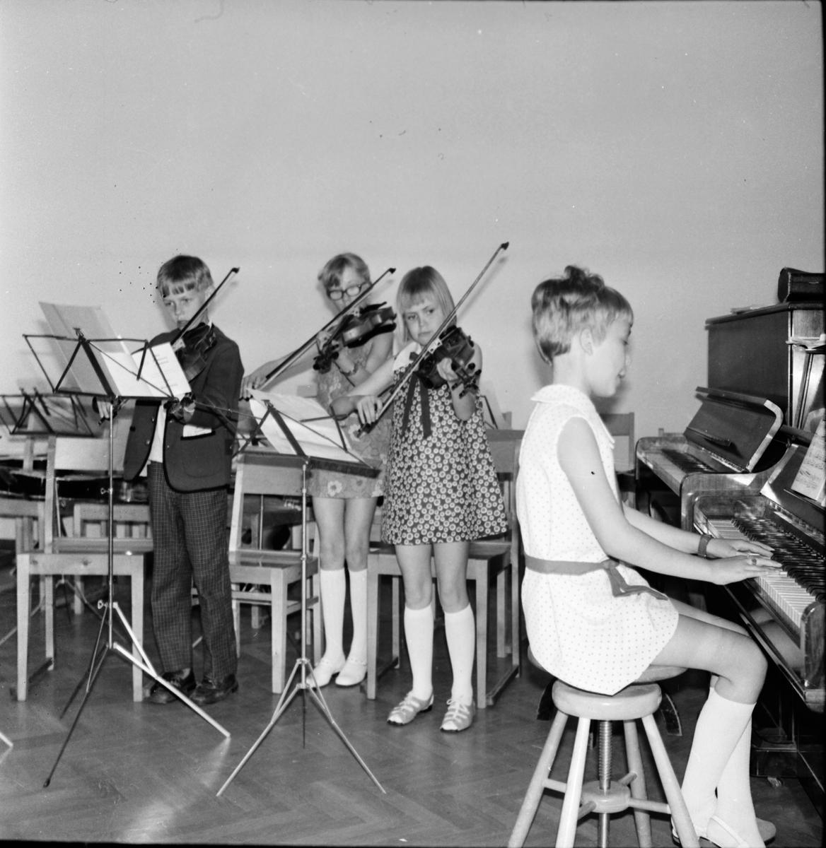Arbrå, Musikskolans avslutning, Juni 1969