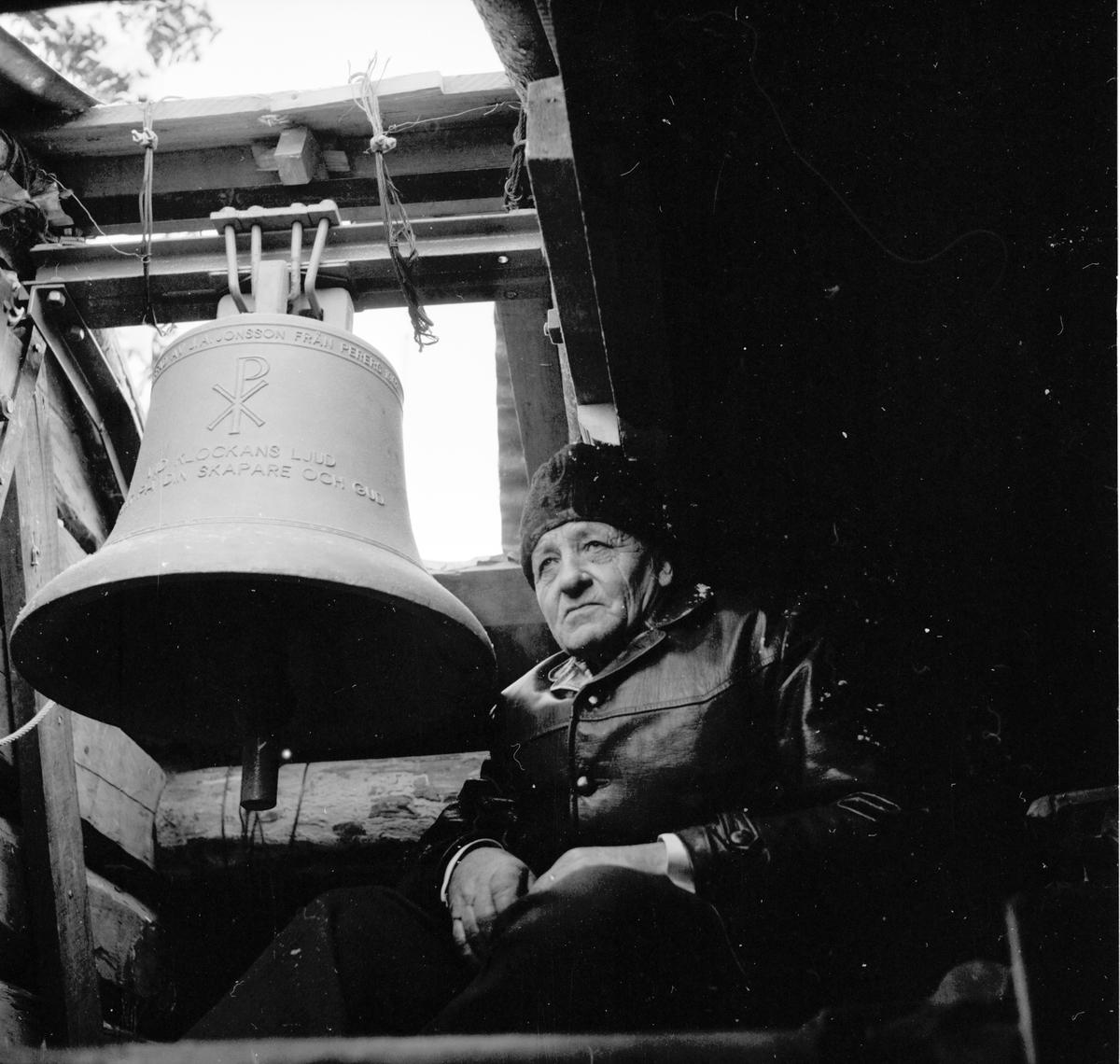 Grängsbo. J-G Jonsson Kapellbyggare 17/12-1962