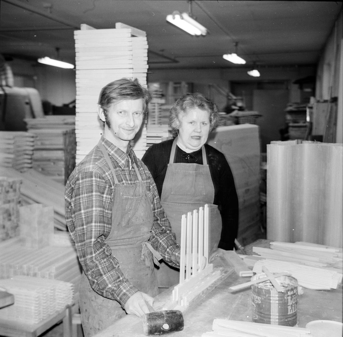 Tore Fransson blir friskförklarad. November 1973