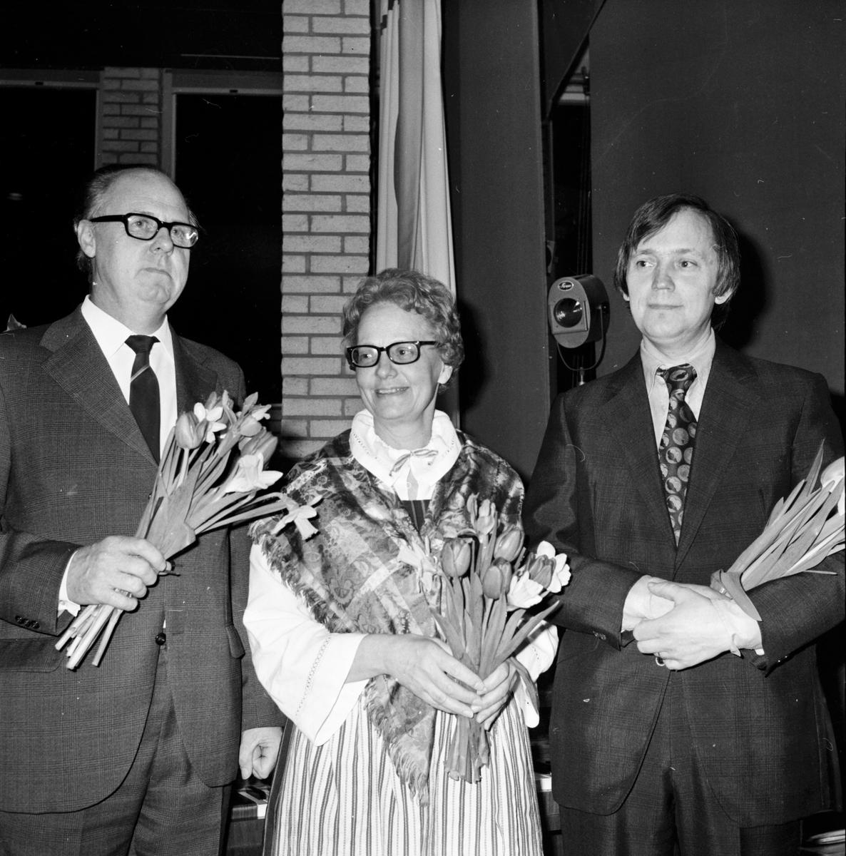 Forum Soare, Astrid Häger, Haglund-Larsson, Mars 1972