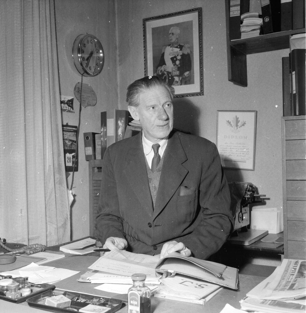 Backström Oskar, Kolonialman